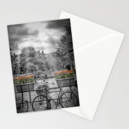 AMSTERDAM Gentlemen's Canal | upright panoramic view Stationery Cards