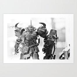 Ready for Battle Art Print