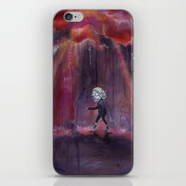 Out of Nowhere iPhone Skin