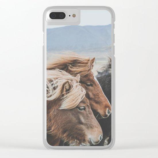 Thingeyrar, Iceland Clear iPhone Case