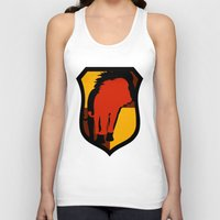 gryffindor Tank Tops featuring Gryffindor Crest by Electric Unicorn