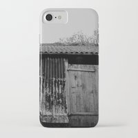 college iPhone & iPod Cases featuring College Lean2 by Luke Watson