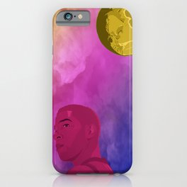 Man On the Moon I iPhone Case