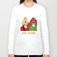 he man Long Sleeve T-shirts featuring He-Man by Dano77
