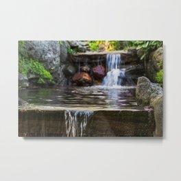 Among the waterfalls Metal Print