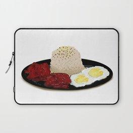 Tocilog (tocino, egg, fried rice) -filipino food Laptop Sleeve