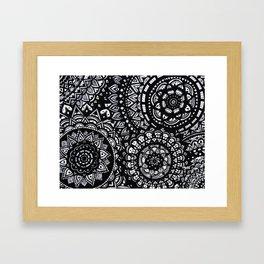 Mandalas Framed Art Print