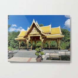 A bit of Thailand in Madison, WI, USA Metal Print