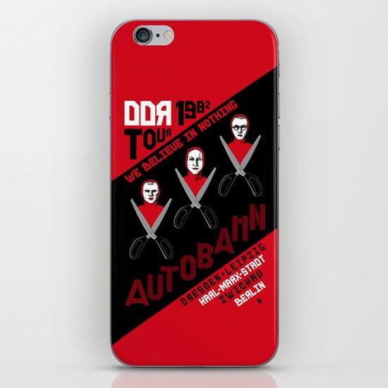 Autobahn--East German Tour 1982 iPhone & iPod Skin