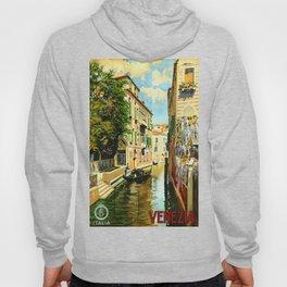 Venezia - Venice Italy Vintage Travel Hoody
