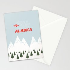 Alaska Trip Stationery Cards