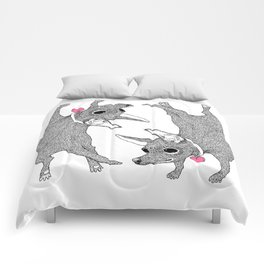 Chihuahua Handstand Comforters