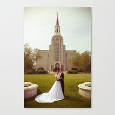 Oliver and Soye - Temple Canvas Print
