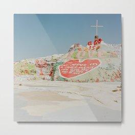 Salvation Mountain V Metal Print