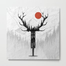 My Dear Bike Metal Print
