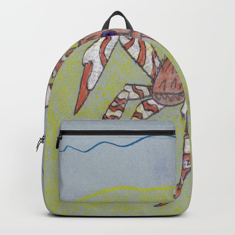 Spider Crab Backpack by Ryanvangogh BKP8490487