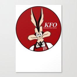 Kentucky Fried Ostrich Canvas Print