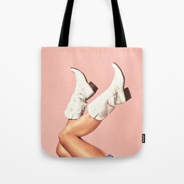 These Boots - Pink Tote Bag
