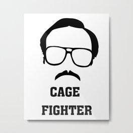 Napoleon Dynamite - Kip - Cage Fighter Metal Print