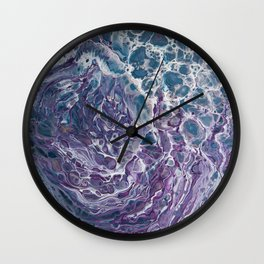 Purple People Eater Wall Clock