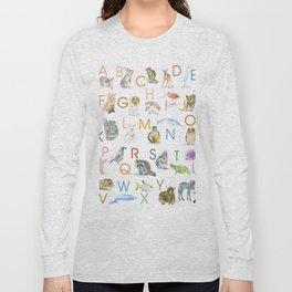 Animal Alphabet ABCs Long Sleeve T-shirt