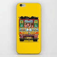 truck iPhone & iPod Skins featuring TRUCK ART by urvi