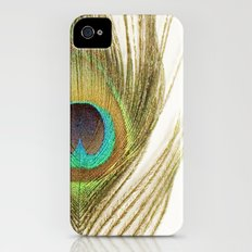 Peacock Feather iPhone (4, 4s) Slim Case