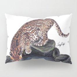 Ocelot - Jungle Cat Pillow Sham
