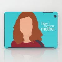 himym iPad Cases featuring Lily Aldrin HIMYM by Rosaura Grant