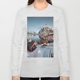 reine at lofoten Long Sleeve T-shirt