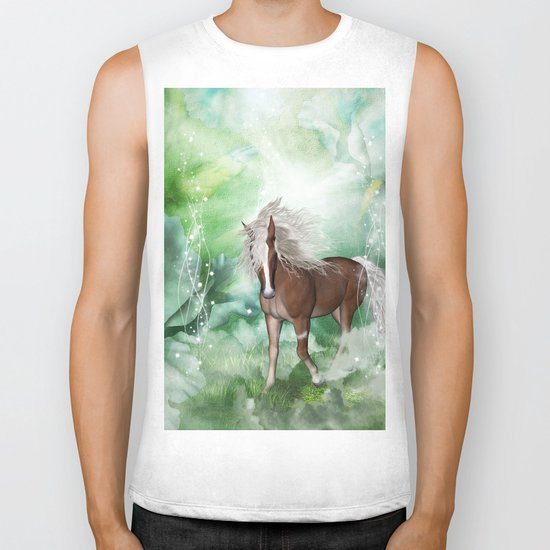 Beautiful horse Biker Tank