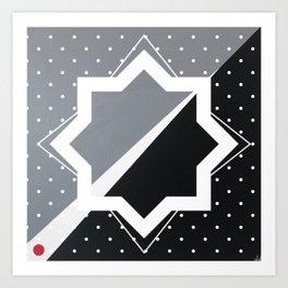 London - star graphic Art Print