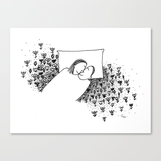 Our Little World Canvas Print