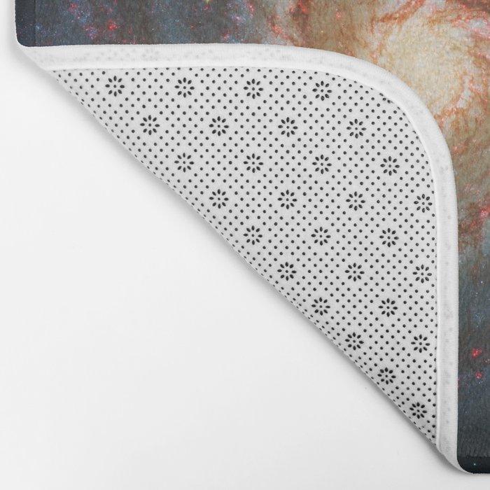 Whirlpool Galaxy and Companion Galaxy Bath Mat