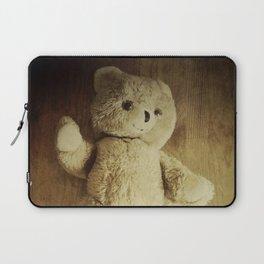 Old Teddy Bear Laptop Sleeve