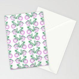 Vintage Peloton, Pink Stationery Cards