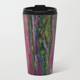 Spellbinding Impasse (Bioluminescent Field) Metal Travel Mug