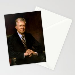 President Jimmy Carter Painting Stationery Cards