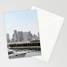 Boston By Day Stationery Cards