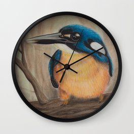 """The Patient Hunter"" - Original Artwork Print Wall Clock"