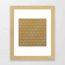 Retro 11 Framed Art Print