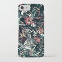 garden iPhone & iPod Cases featuring Space Garden by RIZA PEKER