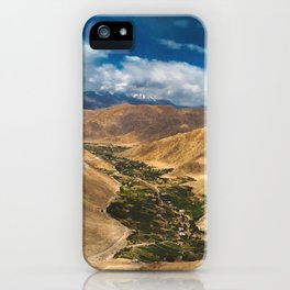 Mountains and Sky iPhone Case