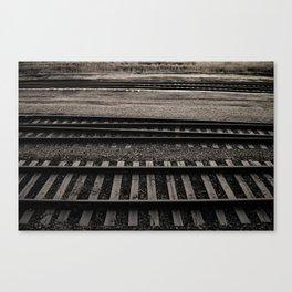 Train Crossing Canvas Print