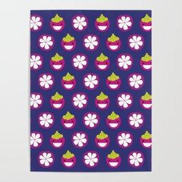 Dotty Mangosteen II - Singapore Tropical Fruits Series Poster
