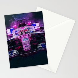 Sergio Perez Stationery Cards
