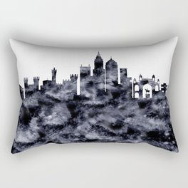 Bangalore Skyline India Rectangular Pillow