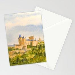 The Alcazar Segovia Spain Stationery Cards