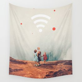Wirelessly connected to Eternity Wall Tapestry