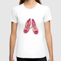 converse T-shirts featuring Converse by Enrique Parra Aldama